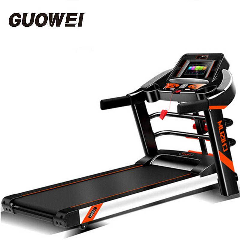 Elektrische Klapp Laufband heimtraining Ausrüstung Walking Maschine Haushalt Laufband Wi-Fi/video Fitness Gym Crossfit