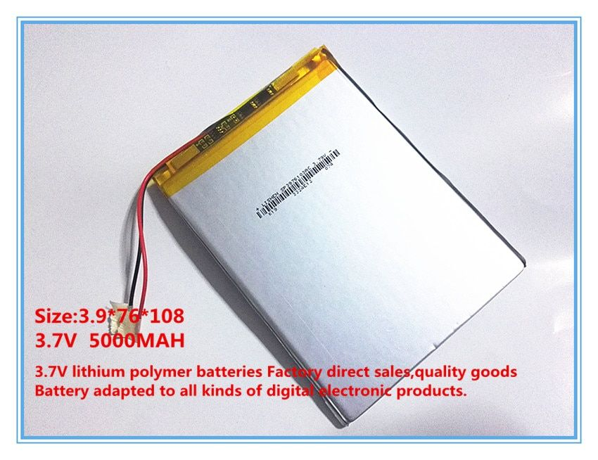 Polymer battery 9 inches tablet battery domestic the built-in rechargeable battery 5000 mah 3976108 free shipping