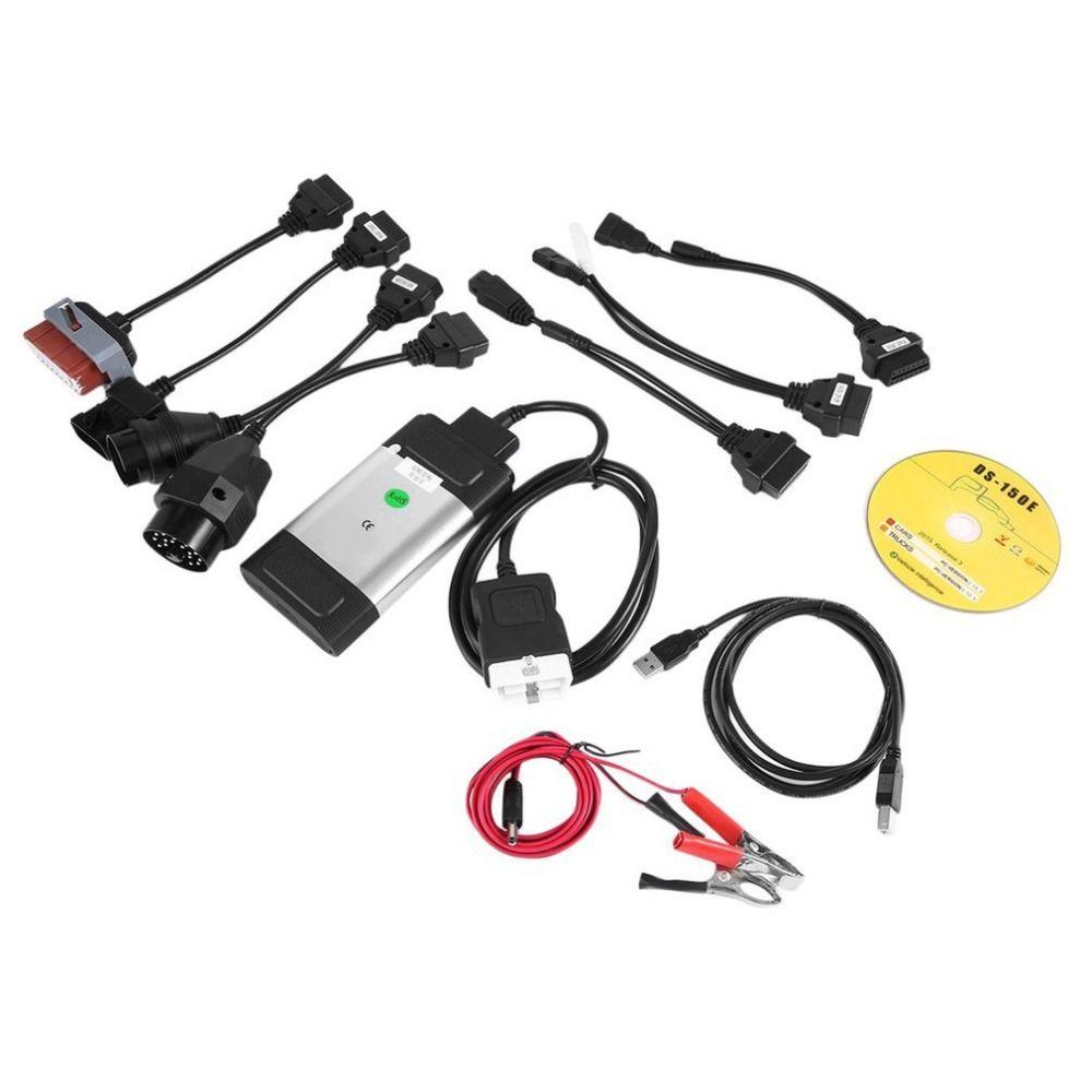 2018 Genuine Professional Auto Car TCS CDP Pro Plus Scanner for autocom OBD2 Diagnostic Tool with 8PCS Car Diagnostic Cables Set