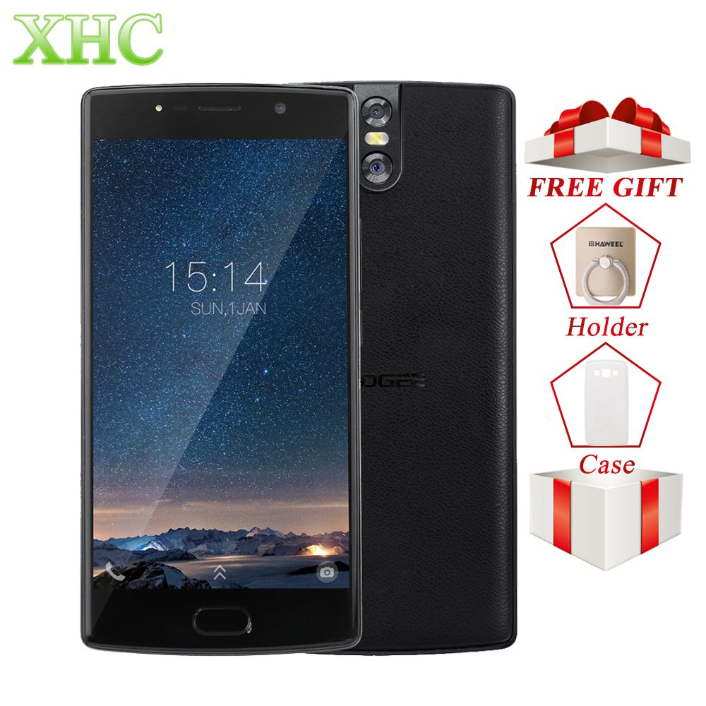 LTE 4G DOOGEE BL7000 Smartphone 4GB+64GB 13MP Camera 7060mAh 5.5'' Cellphone Android 7.0 <font><b>Octa</b></font> Core 1.5GHz 1920*1080 Moible Phone