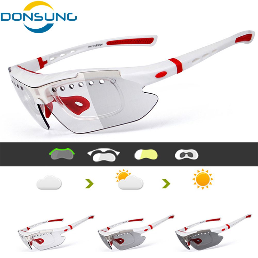 Luminous Frames Light Photochromic Night Vision Polarized Cycling Glasses Sunglasses World Premiere Drop Shipping Available