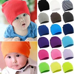 2017Spring New Unisex Baby Boy Girl Kids Toddler Infant colorful Cotton Soft Cute Hats Cap Beanie