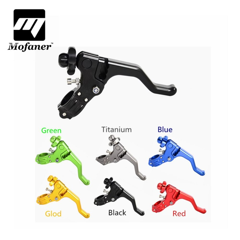 CNC Short Stunt Clutch Lever Perch Motorcycle Brake Clutch Levers For Honda CR80/125 CRF 250R/X 450R/X XR650R