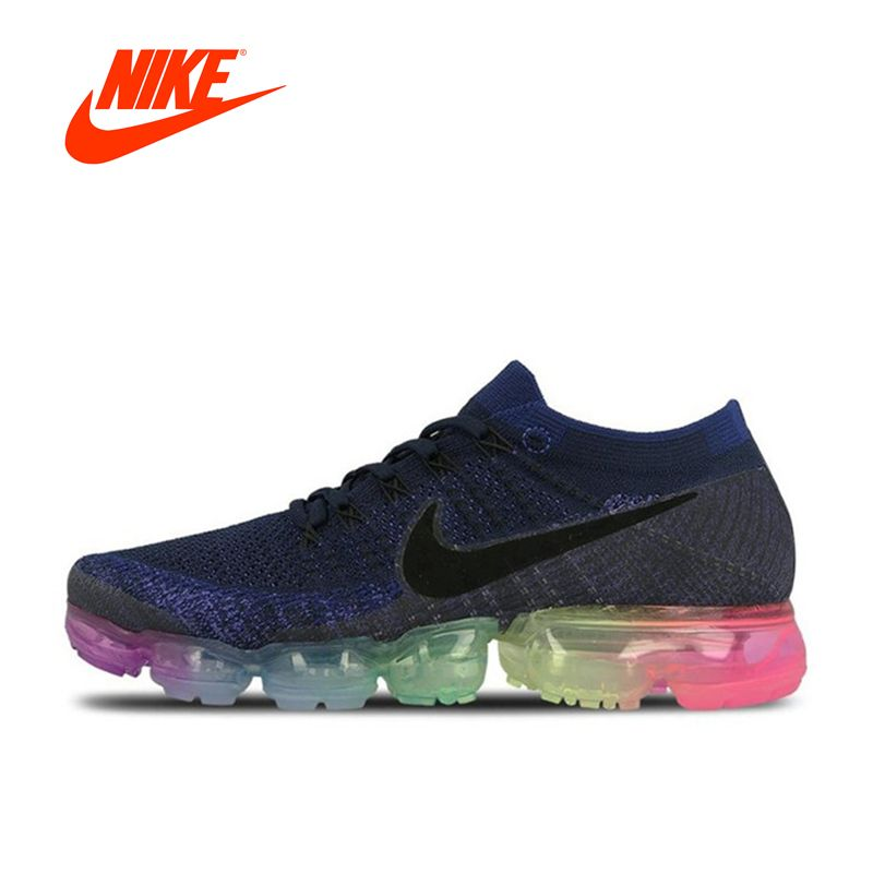 Original New Arrival Official Nike Air VaporMax Be True Flyknit Breathable Men's Running Shoes Sports Sneakers Outdoor