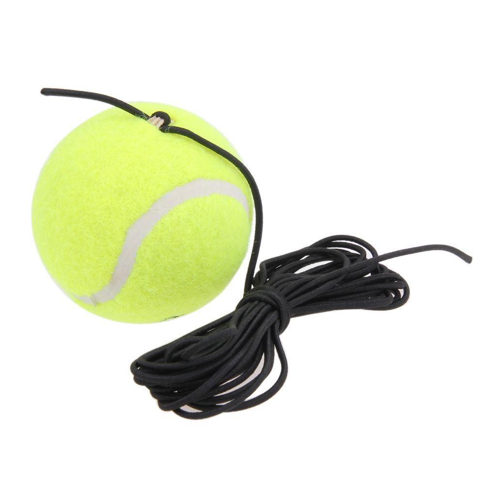 Hohe Qualität Gummi Woolen Tennisbälle Trainer Tennisball mit String Trainer Selbststudium Rebound Bälle