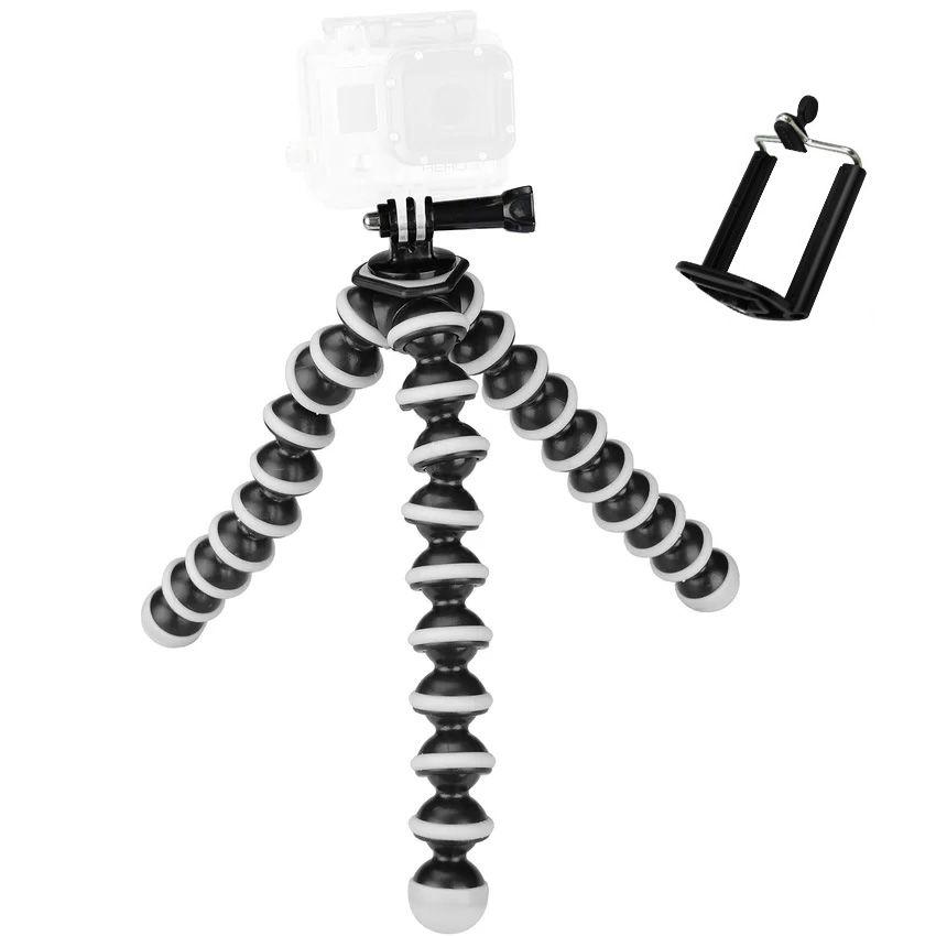 2017 Grand Octopus Trépied Flexible Stand Gorillapod pour Gopro Hero 4/3 +/3 sj40/Caméra Numérique DV Canon Nikon Mobile Téléphone