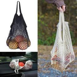 Hot Sale Mesh Net Turtle Tas String Tas Belanja Tas Kasual Dapat Digunakan Kembali Penyimpanan Buah Kain Bersih Totes Wanita Tas Bahu 2019