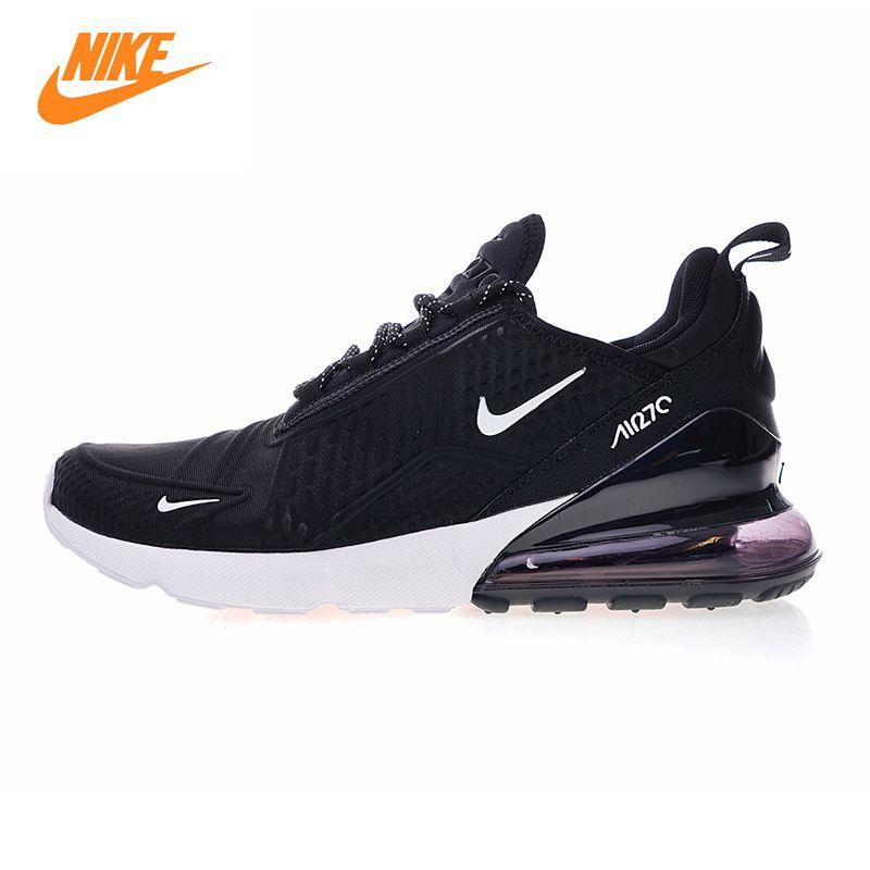 Nike Air Max 270 herren Laufschuhe, schwarz/schwarz und Gold, stoßdämpfende Atmungs Leichte AH8060 010 AH8060 019