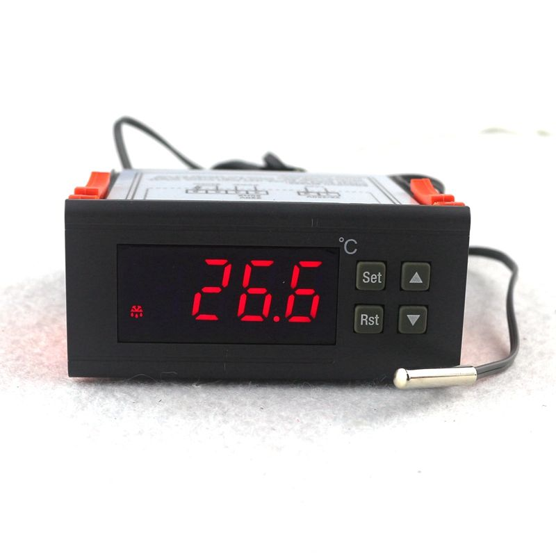 RC-113M AC 220V 2A PID Digital Thermostat <font><b>Regulator</b></font> Termostato Temperature Controller for Incubator Lab