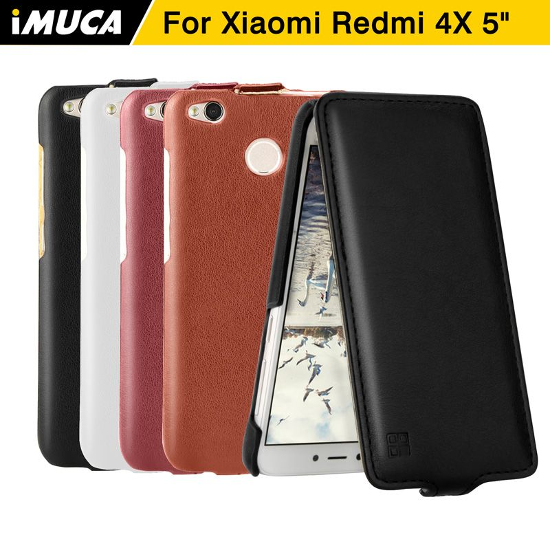 Xiaomi Redmi 4x Case Cover Flip Leather Case For Xiaomi Redmi 4x Cover Full Protection Phone Cases Xiaomi Redmi 4x Pro Case