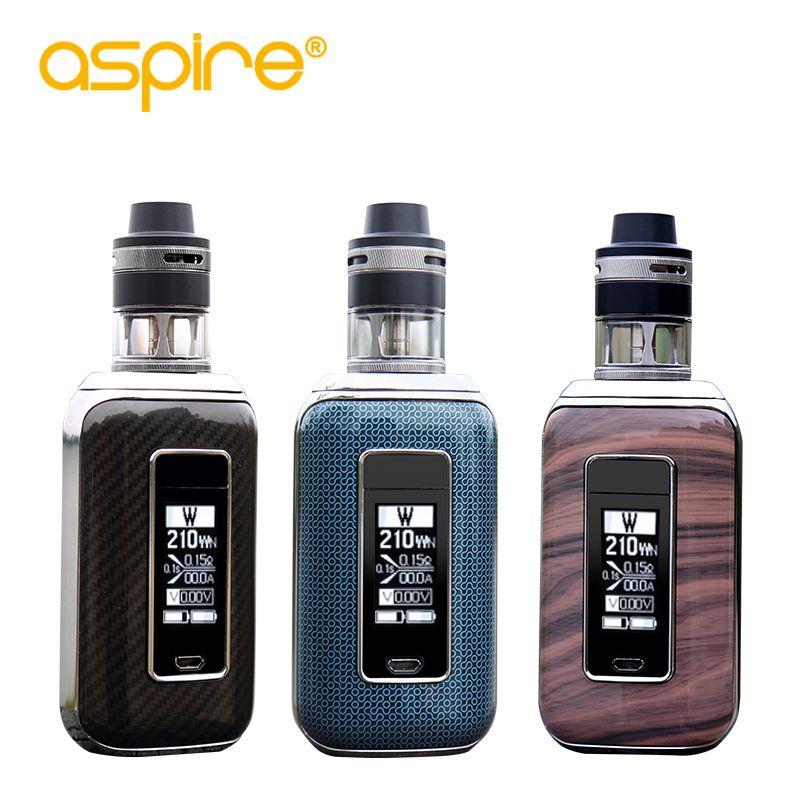 In Stock Aspire SkyStar Revvo Kit Electronic Cigarette 210W Vape Mod with E Cigarette Revvo Tank elektronik cigarette kit