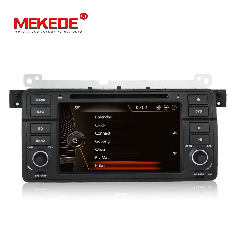 duty free European warehouse Car multimedia player for BMW 3Series E46 325i 325xi 325ci 330i with gps navigator dvd player