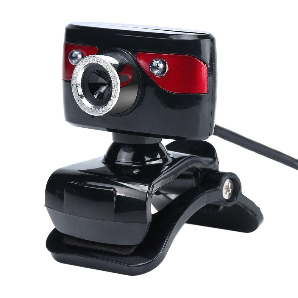 A886 USB 1.3 Megapixel Computer Webcam Kamera Drehbare Web Cam mit Mic Unterstützung Nachtsicht für PC Android TV