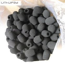 8mm Diameter foam microphone windscreens windshields /Customize foam covers on your requirements with Free Shipping by mail