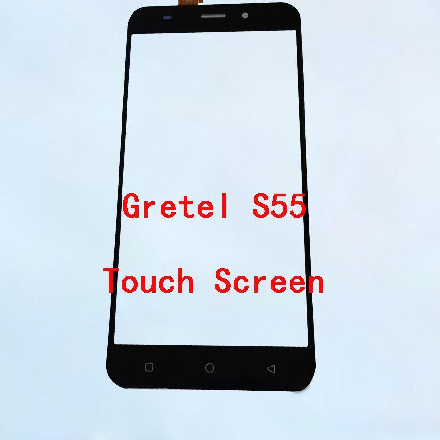 Panneau tactile BINYEAE pour écran tactile Gretel S55 pas de remplacement de Digtizer d'affichage LCD