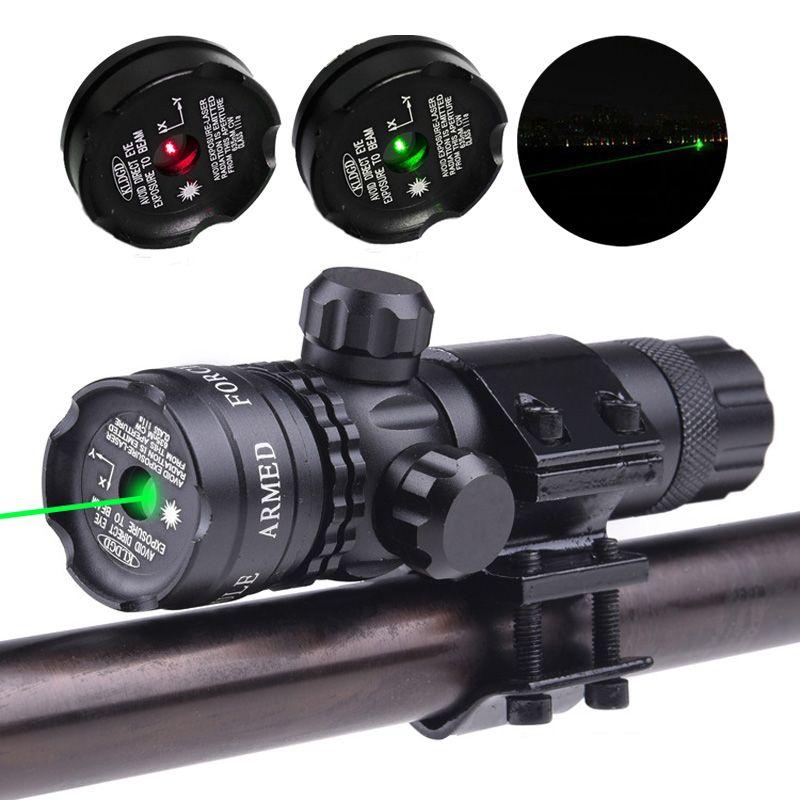 Новые тактические вне кри зеленая точка лазерный прицел регулируемый прицел с дин-рейке для пистолета охота