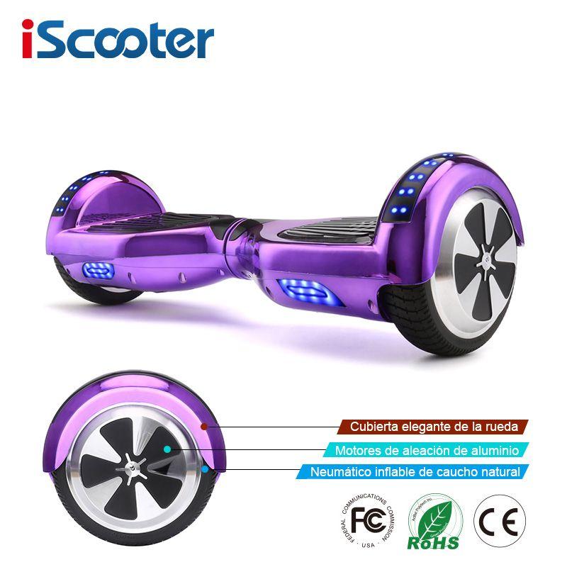 IScooter Hoverboards Selbst Balance Elektro Roller Skateboard Elektrische Hoverboard 6,5 zoll Zwei Räder Hover Board
