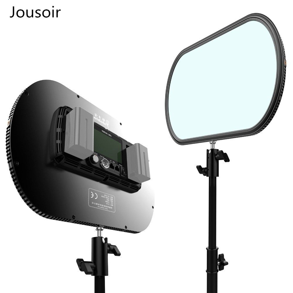 Idoblo PE-920II 2 colors Ultra Thin Continuous Soft LED Photography Lighting Panel 2.4G Wireless Remote Control Studio Lamp CD50