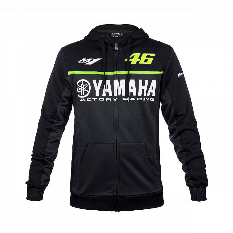 free shipping 2017 Valentino Rossi VR46 for Yamaha M1 Hoodie Moto GP Hoodie Sports Men's Zip-up Hoody racing hoodie
