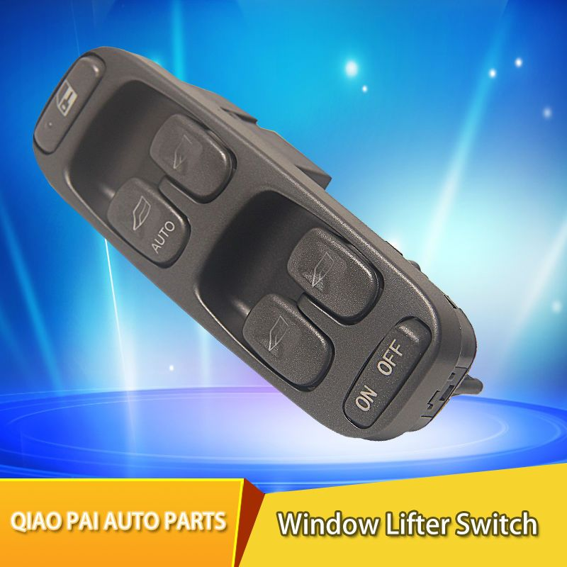 Car Electric Power Window Master Control Switch Auto Main Window Lifter Switch 8638452 9472276 For Volvo S70 V70 S70 XC70