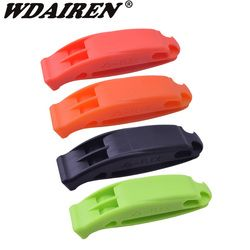 1Pcs Survival Whistle Like Sports Classic referee Dual Band Outdoor Emergency Rescue Fox40 Whistle Cheerleaders Cheering