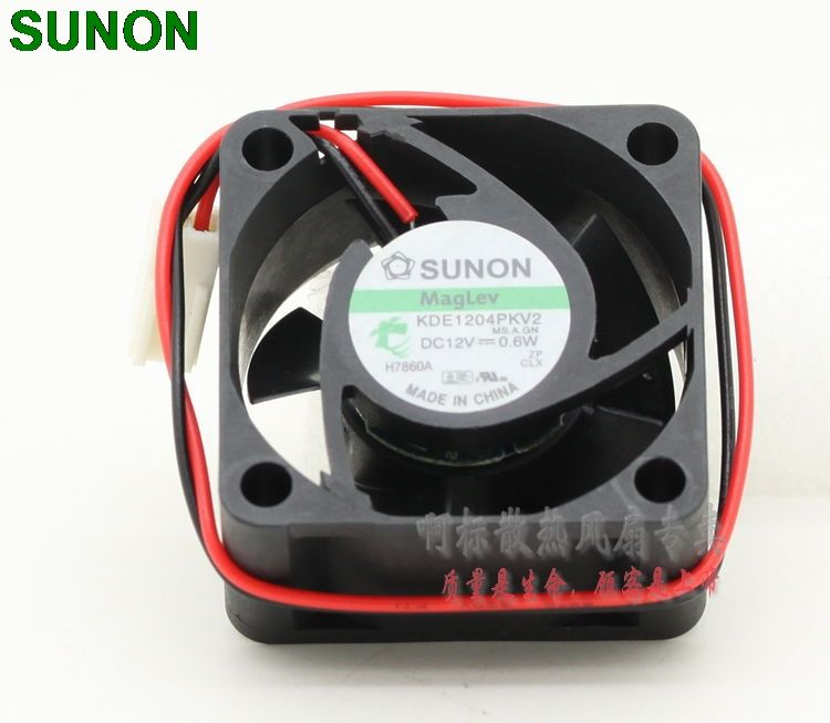 SUNON Maglev fan KDE1204PKV2 4cm 40mm 4020 12V 0.6W silent quiet server inverter cooling fan