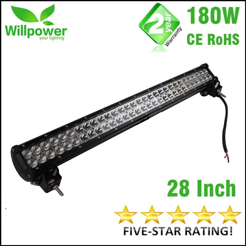 off road LED driving light bar 4x4 Offroad 14400-18000LMs high power 180W 28 Inch car Led Light Bar