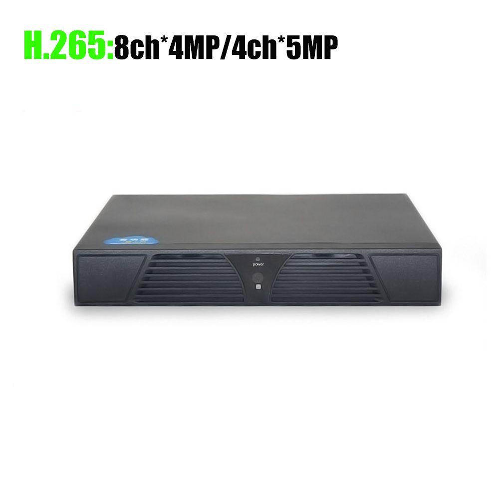 YiiSPO 4CH 5MP/8CH 4MP 16CH*5MP NVR H.265 Security Network Video Recorder 4K HDMI NVR IP CCTV Camera XMeye APP Hi3536D H.264+