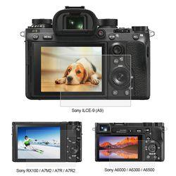 Puluz 1 PC 9 H Kaca Melunakkan LCD Layar Pelindung Film Cocok untuk Sony ILCE-9 A9 A6000/A6500 RX100 /A7M2/A7R/A7R2 Kamera