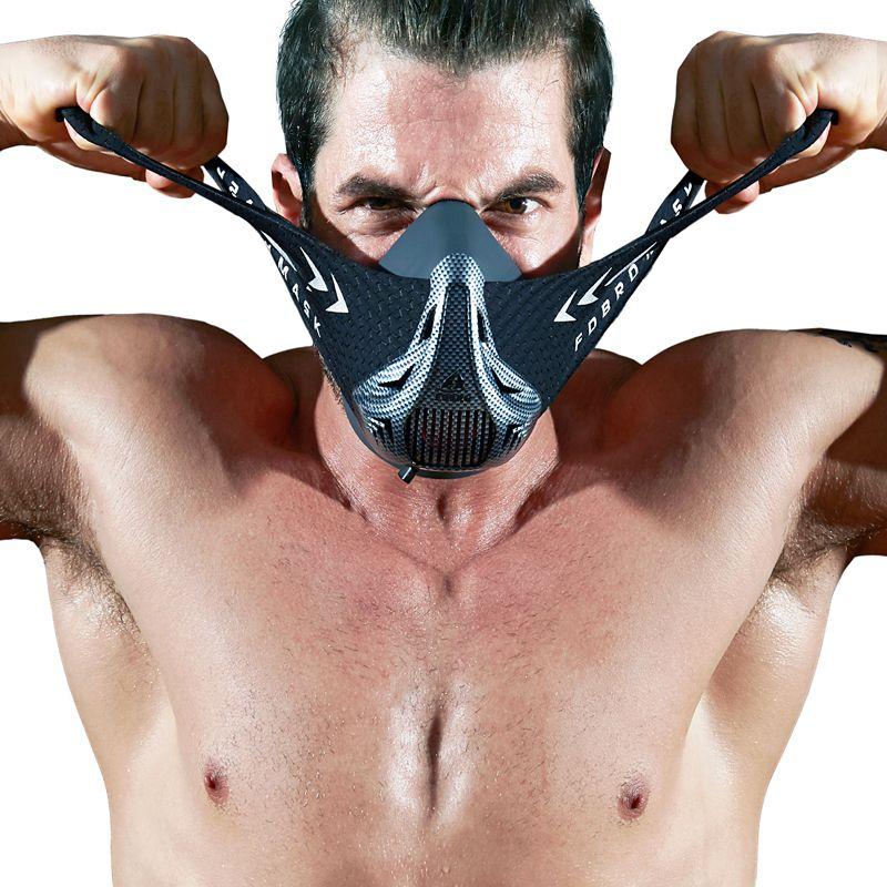FDBRO Sports masks style black High Altitude training Conditioning training sport mask 2.0 with box phantom mask FREE SHIPPING