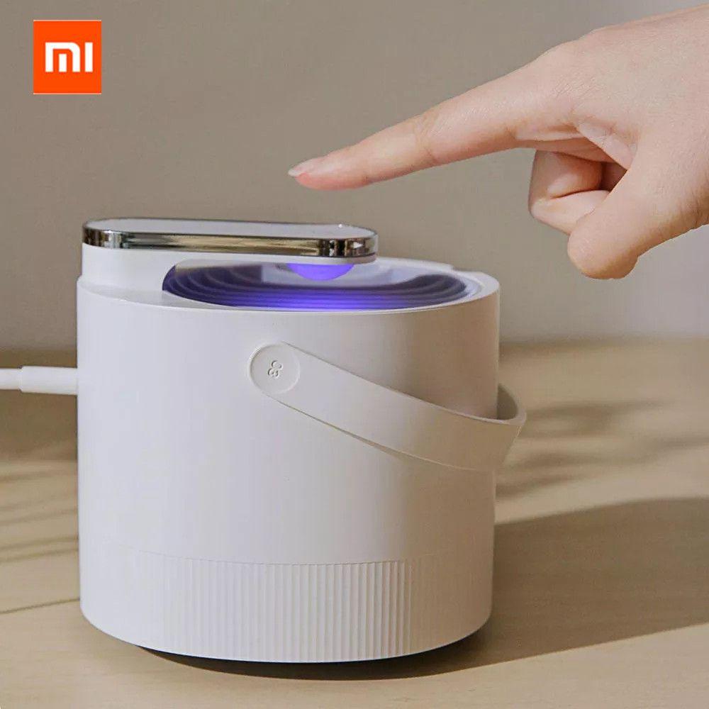 Original Xiaomi Mijia lampe tueur de moustiques USB photocatalyseur électrique moustique répulsif insecte tueur lampe piège UV lumière intelligente