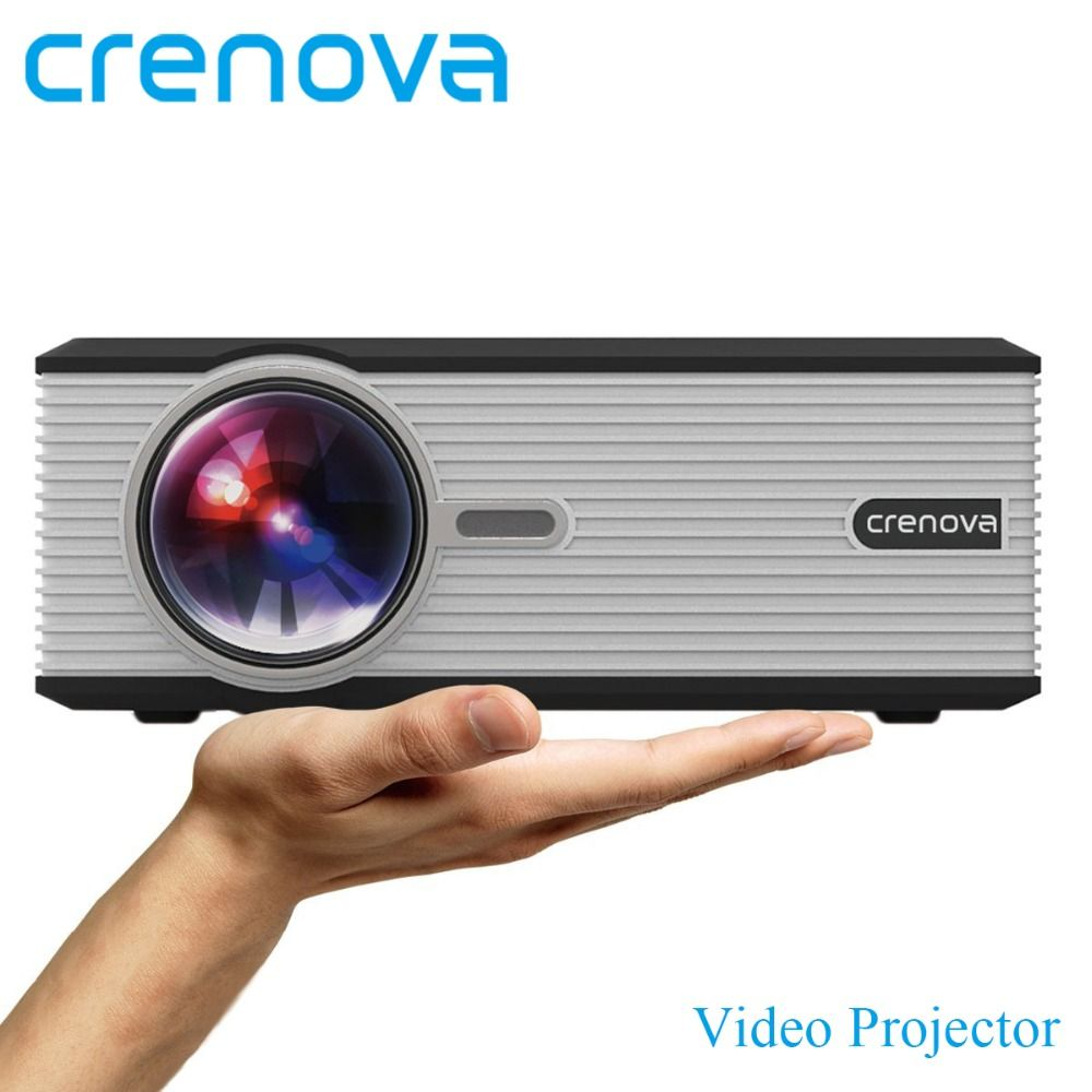 CRENOVA Video Projector For Home Theater Movie Proyector With HDMI USB VGA AV For Full HD 1080p Led Projector Beamer