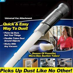 Multi-fonctionnelle Poussière Papa Brosse Cleaner Dirt Remover Portable Universel Vide Outils de Fixation