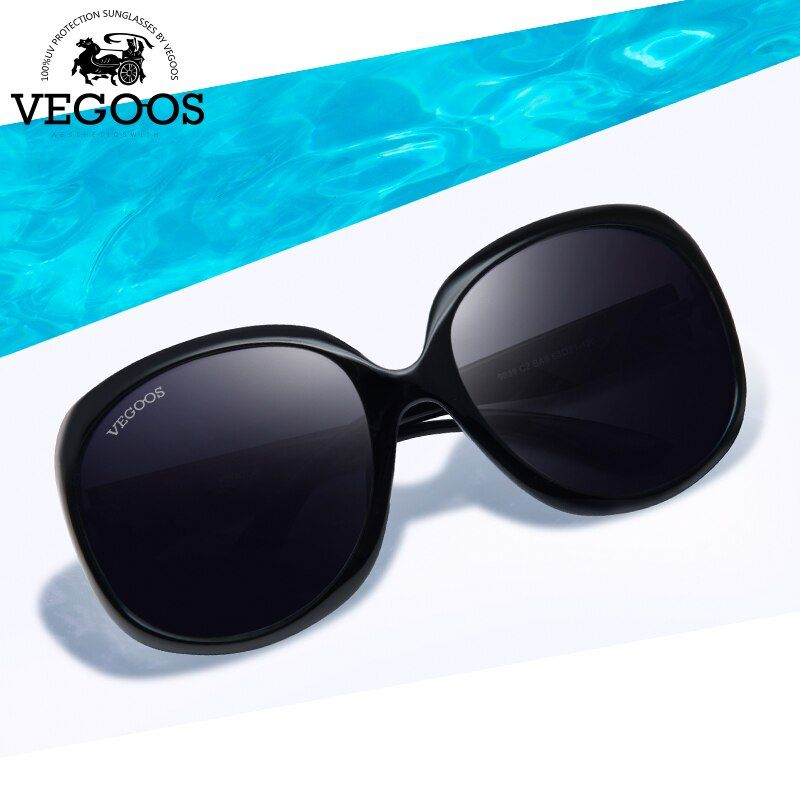 VEGOOS luxe marque concepteur lunettes de soleil polarisées femmes conduite lunettes de soleil Polaroid mode grand cadre livraison gratuite nouveau #9039