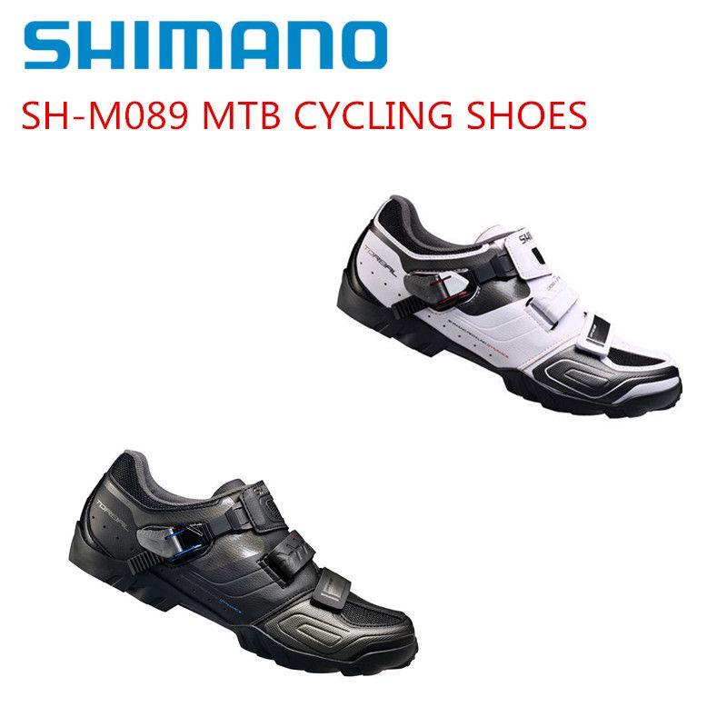 Shimano SH-M089 Cycling Shoes SPD SPD-SL MTB Mountain Bike Shose BLACK/WHITE