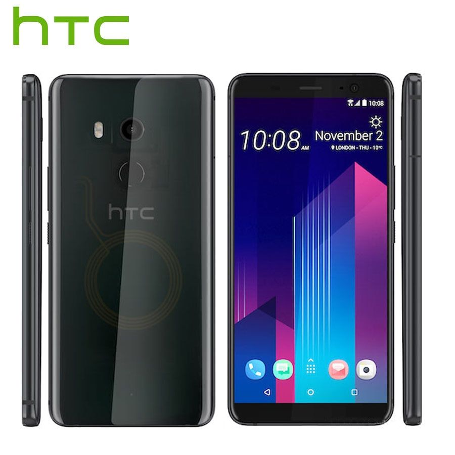 HK Version HTC U11 Plus U11 + 4G LTE Handy 6 GB RAM 128 GB ROM 2160 P octa Core 6,0 zoll IP68 1440x2880 P Android 8.0 Rindcallphone