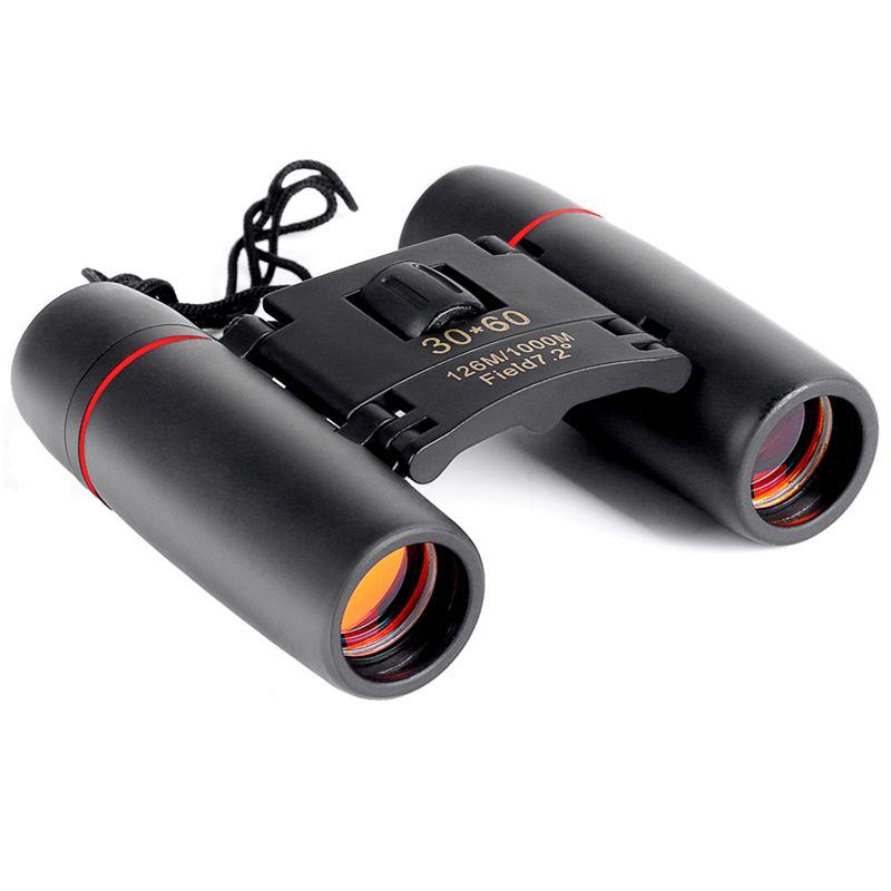 Zoom Télescope 30x60 Jumelles Pliantes avec Low Light Night Vision pour en plein air observation des oiseaux voyager chasse camping 2018