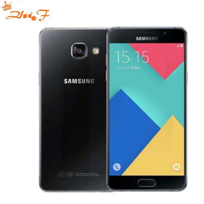 D'origine Samsung Galaxy A7 Double SIM Double 4G Téléphone Intelligent A7100 OctaCore 16G ROM 13MP Caméra 5.5 ''1080 P Mobile téléphone