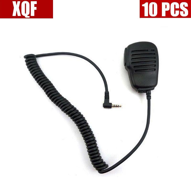 XQF 10PCS  Speaker Microphone mic for Yaesu Vertex Radio VX-160 VX-351 VX-3R FT-60R