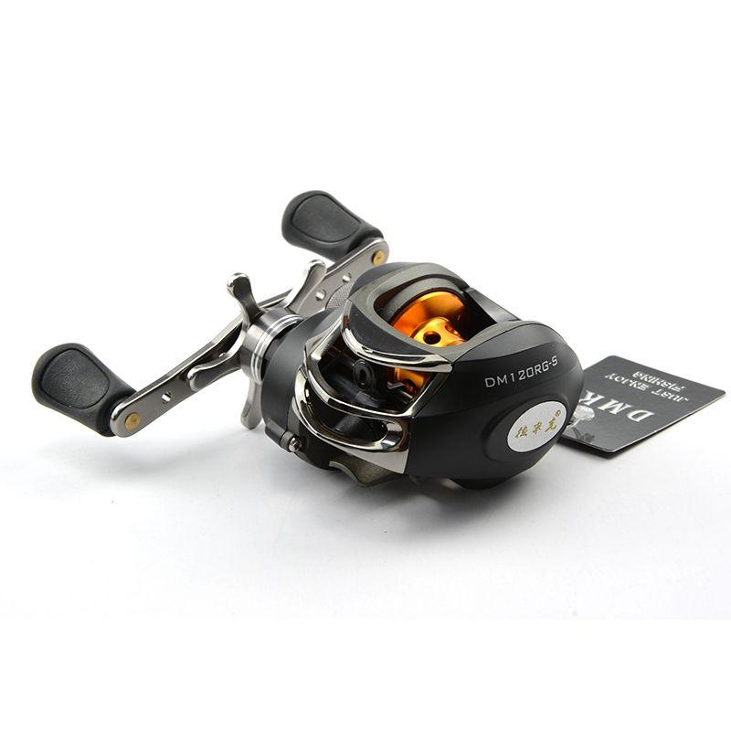 DMK Right Hand Left Hand BaitCasting Reel 9B+RB 6.3:1 Water Drop Reel Spinning Fishing Reel Centrifugal Brake One-way Bearing