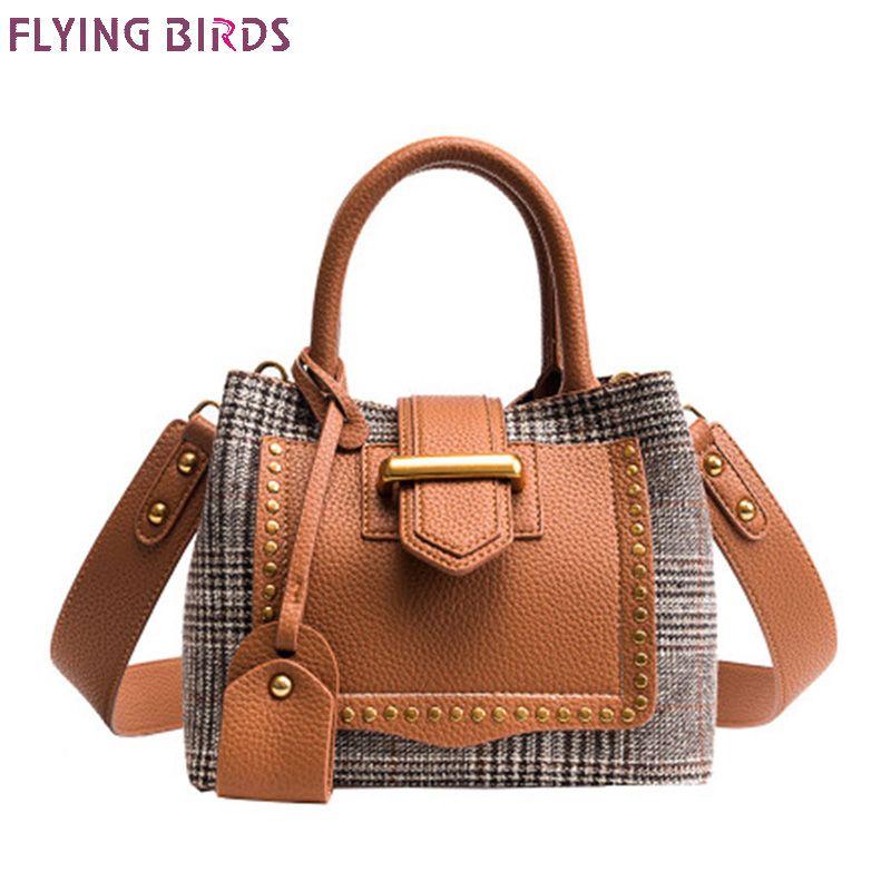 Flying bird! women totes bag 2018 New women messenger bag fashion handbag designer clutch female Composite shoulder bags bolsas