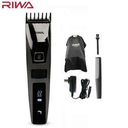 Riwa K3 профессиональная машинка для стрижки волос одним встроенным гребень Перезаряжаемые Водонепроницаемый Для мужчин триммер волос машин...