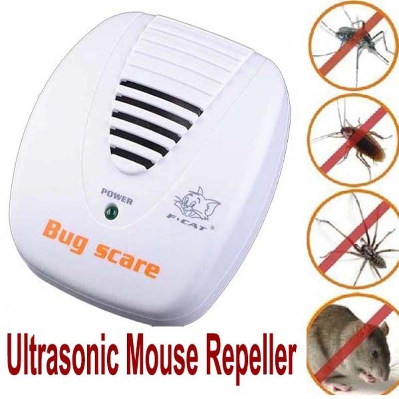 Antiparasitaire anti antiparasitaires dispositif Piège Électronique À Ultrasons pest rejeter répulsif rongeurs pest Souris Rat Répulsif