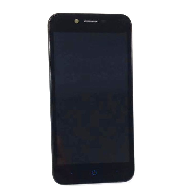 5.0 Inch For ZTE Blade L4 A460 LCD Display+Touch Screen Digitizer Assembly Black Color With Frame With 3M Tape 1PC/Lot