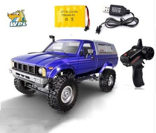 WPL C24 RC Car Remote Control car 2.4G RC Crawler Off-road Car Buggy Moving Machine 1:16 4WD Kids Battery Powered Cars RTR gifts