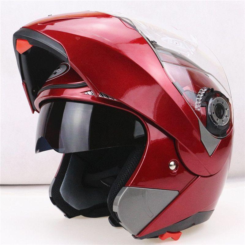 2016 New Arrival Motorcycle Helmets Flip up helmet with inner sun visor everybody affordable JIEKAI-150