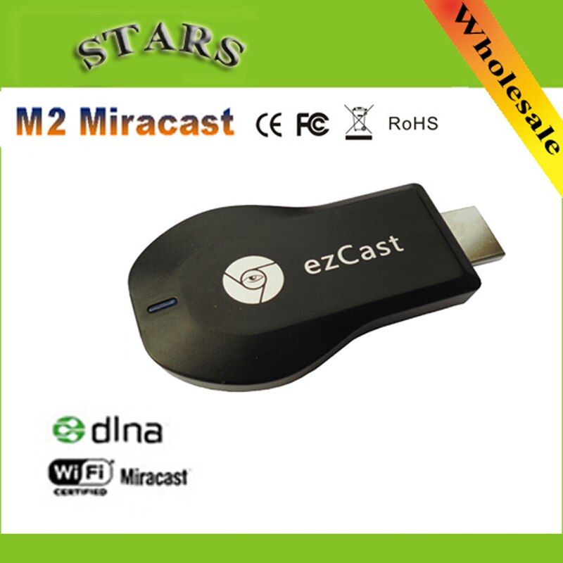 M2 EZcast chromecast Miracast Airplay DLNA TV Stick Wireless Display медиаплеера 1080 P HDMI WiFi адаптер для Windows IOS Andriod