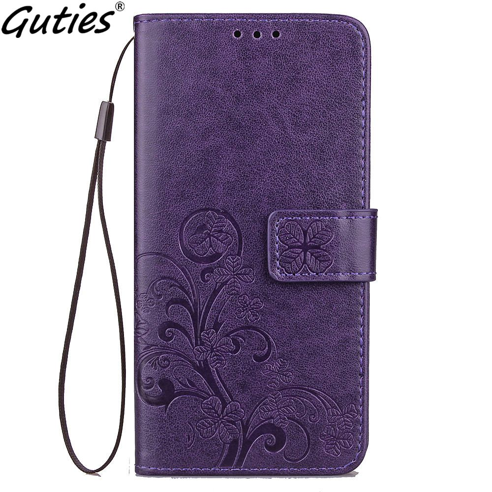 Guties Leather Phone Case Wallet Cover For Xiaomi Max 2 3 A2 Lite Flip Stand Book Capa Soft TPU Back Cover For Redmi 6 6A Pro S2