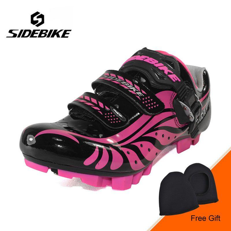 SIDEBIKE Mountainbike Schuhe Frauen MTB Fahrrad Schuhe Selbstsichernde verschleißfestigkeit Bike Radfahren Schuhe zapatillas ciclismo