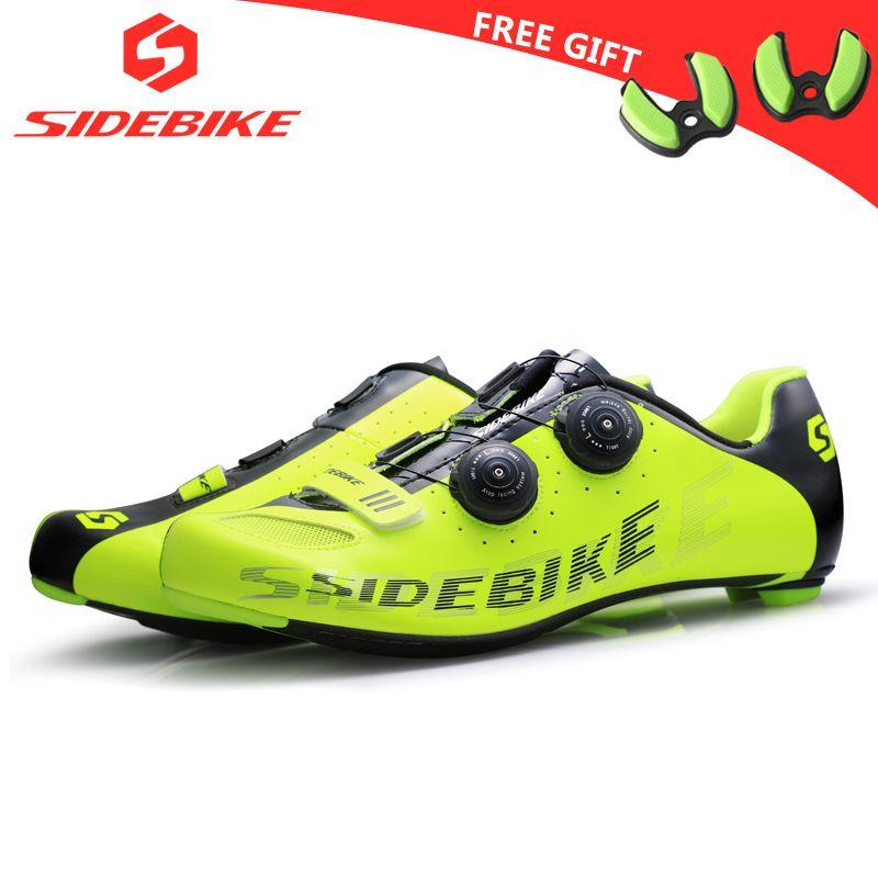 Sidebike carbon rennrad schuhe männer racing schuhe rennrad ultraleichte selbstsichernde fahrrad turnschuhe atmungsaktiv professionelle